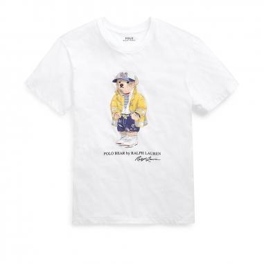 POLO RALPH LAUREN拉夫勞倫 Polo 小熊圓領 T 恤