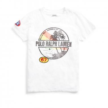 POLO RALPH LAUREN拉夫勞倫 圖案短袖 T 恤