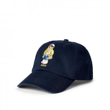 POLO RALPH LAUREN拉夫勞倫 Polo 小熊奇諾棒球帽