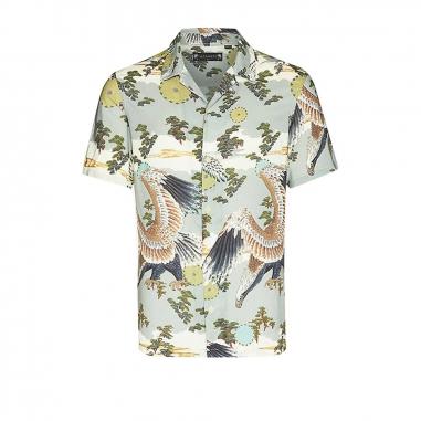 AllSaints歐聖 DESCENT短袖襯衫