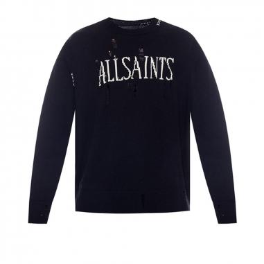 AllSaints歐聖 DESTROY SAINT針織衫