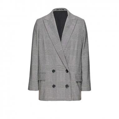 AllSaints歐聖 HELEI CHECK西裝外套