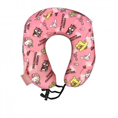 Hello KittyHello Kitty 機場限定-HELLO KITTY好朋友頸枕-粉
