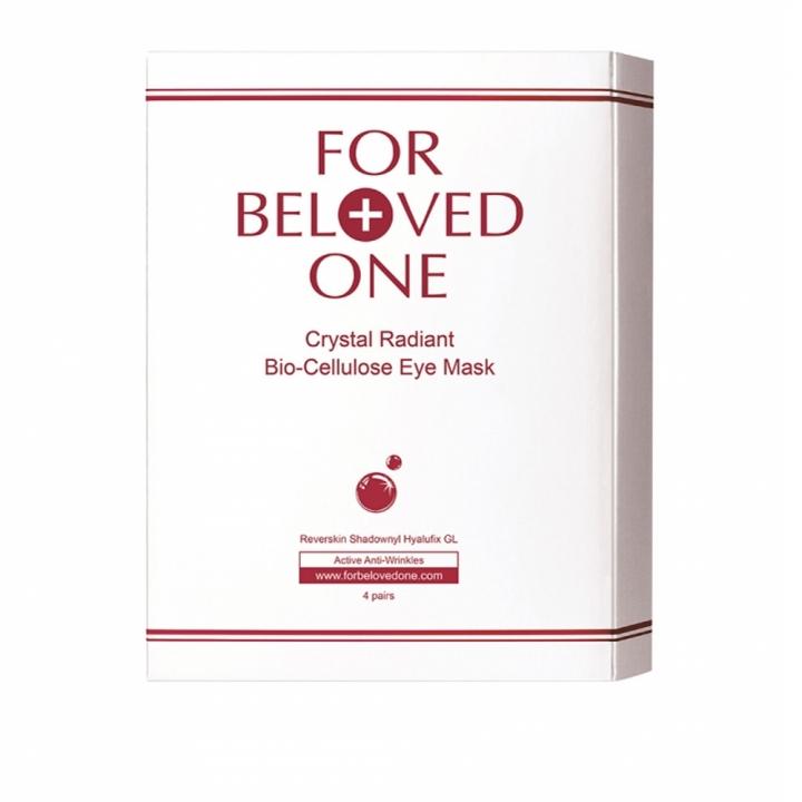 Crystal Radiant Bio-Cellulose Eye Mask晶亮明眸生物纖維眼膜3入特惠組