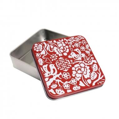 MUZI ART木子創意 剪紙喜鵲小鐵盒