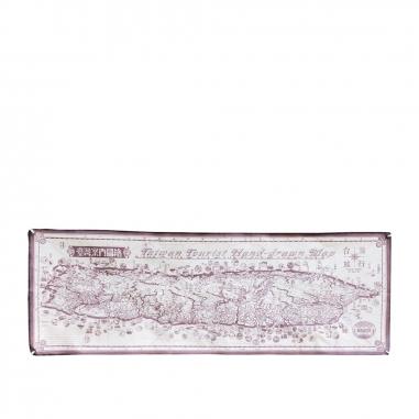 MUZI ART木子創意 台灣案內地圖繪(咖啡色)
