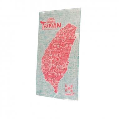 MUZI ART木子創意 台灣古地名(雙色)
