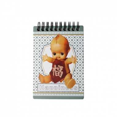 MUZI ART木子創意 幸福寶寶木質筆記本