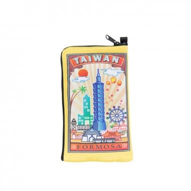 MUZI ART木子創意 台灣印象手機萬用袋