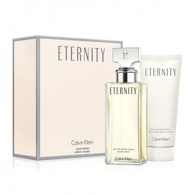 Calvin Klein凱文克萊(香水) 永恆女性淡香精+身體乳特惠組