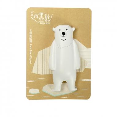Jean Cultural知音文創 黑熊磁鐵-北極熊