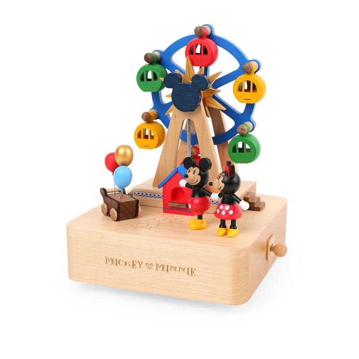 Ferris Wheel Music Box-Mickey&Minnie摩天輪音樂鈴-DN米奇米妮