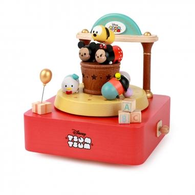 Jean Cultural知音文創 雙旋轉音樂鈴-TSUM玩具店