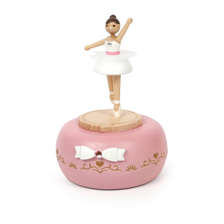 Turn Round Music Box-Musical Box Ballet Girl轉身音樂鈴-芭蕾女孩