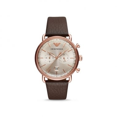 Emporio Armani阿瑪尼(精品) AVIATOR腕錶
