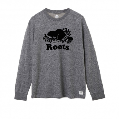 RootsRoots 經典庫柏海狸長袖T恤