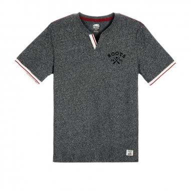 RootsRoots 城市小木屋左胸logo短袖POLO衫