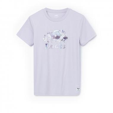 RootsRoots 花朵暈染短袖T恤