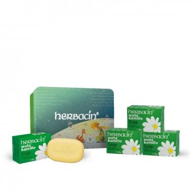 herbacin德國小甘菊 小甘菊經典膚皂四入特惠組