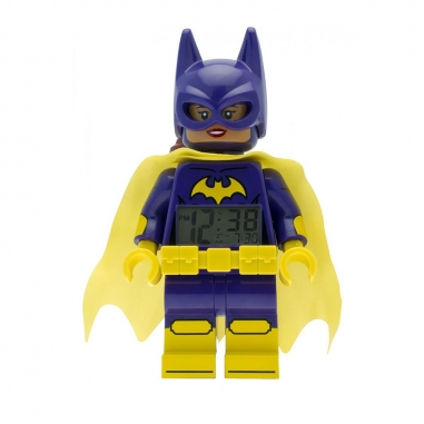 LEGO樂高 LEGO鬧鐘-蝙蝠女孩