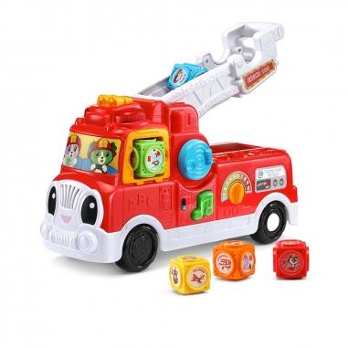 Leapfrog跳跳蛙 翻滾積木消防車