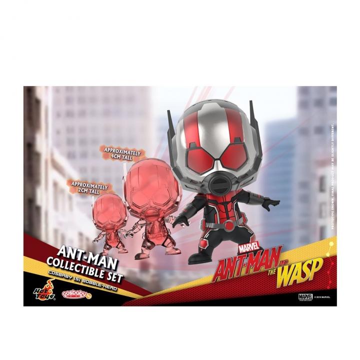 COSB489 Ant-Man Cosbaby (S) Bobble-Head Collectible SetCOSB489 蟻人與黃蜂女 蟻人 套裝組