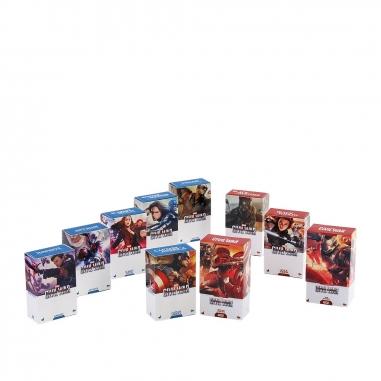 Beast Kingdom野獸國 PMAG003N美國隊長3:英雄內戰 盒繪造型磁鐵 套裝組