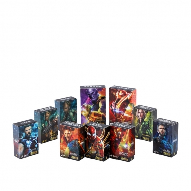 Beast Kingdom野獸國 PMAG004N復仇者聯盟:無限之戰 盒繪造型磁鐵 套裝組