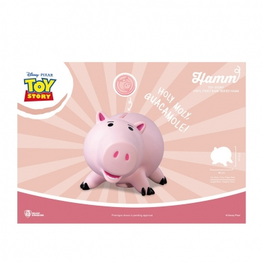Beast Kingdom野獸國 玩具總動員 大型搪膠存錢筒系列 火腿豬款