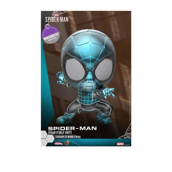 COSB621 Spider-Man (Fear Itself Suit) Cosbaby (S) Bobble-HeadCOSB621 漫威:蜘蛛人 蜘蛛人 恐懼化身戰衣款