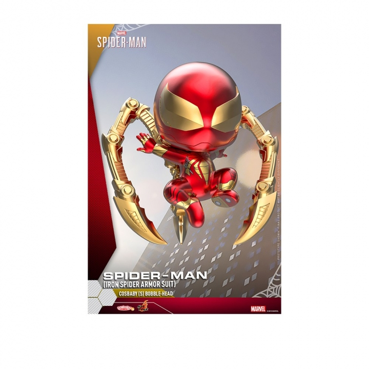 COSB624 Spider-Man (Iron Spider Armor Suit) Cosbaby (S) Bobble-HeadCOSB624 漫威:蜘蛛人 蜘蛛人 鋼鐵蜘蛛人款