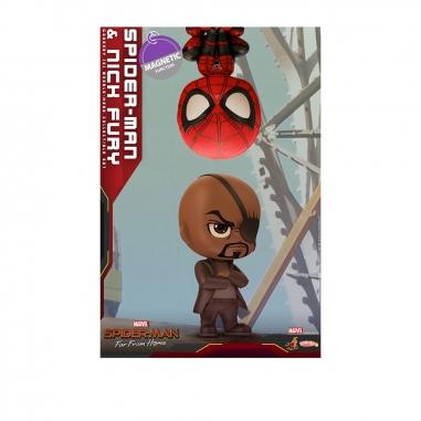Beast Kingdom野獸國 COSB632 蜘蛛人:離家日 蜘蛛人 尼克 & 蜘蛛人 雙入組