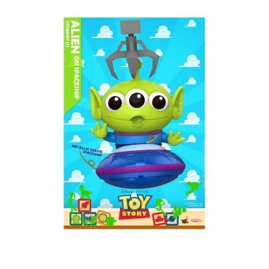 Beast Kingdom野獸國 COSB609 玩具總動員4 三眼怪 飛船金屬配色款
