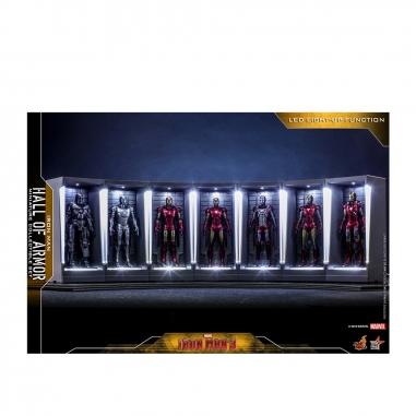 Beast Kingdom野獸國 MMSC012 鋼鐵人3 鋼鐵人系列 迷你格納庫 套裝組 限定款