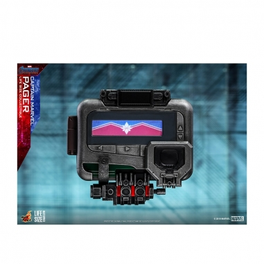 Beast Kingdom野獸國 LMS009 復仇者聯盟:終局之戰 驚奇隊長 呼叫器 1:1 收藏品