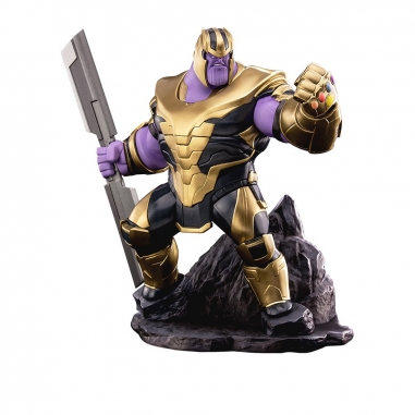Beast Kingdom野獸國 Toylaxy 復仇者聯盟:終局之戰 薩諾斯 PVC場景雕像