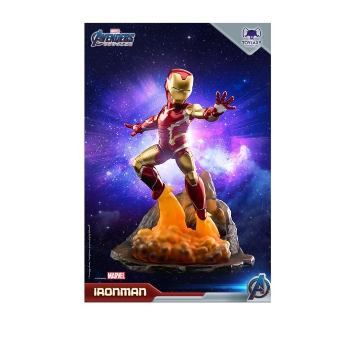Toylaxy Avengers:Endgame PVC Premium Diorama Iron Man MK85Toylaxy 復仇者聯盟:終局之戰 鋼鐵人MK85 PVC場景雕像