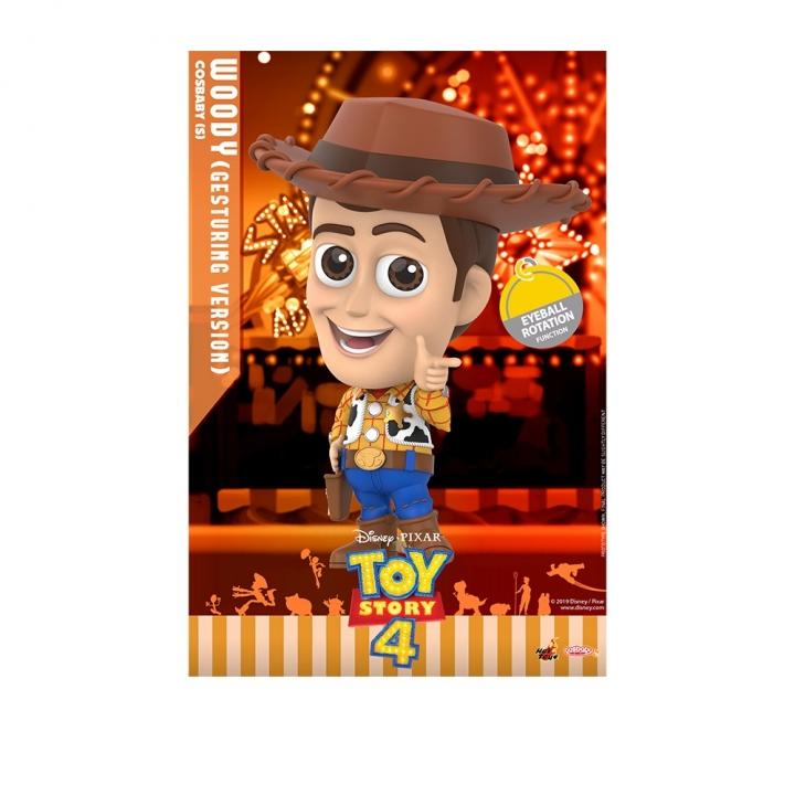 COSB687 Woody Cosbaby (S) (EYE BALL ROTATION FUNCTION)COSB687 玩具總動員4 胡迪 微笑款