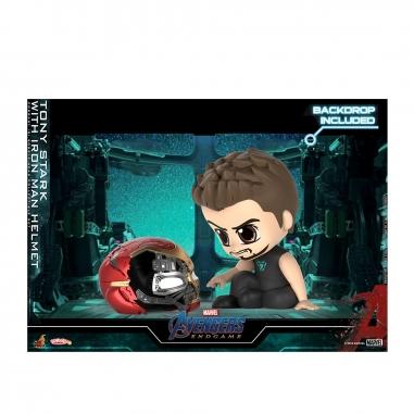 Beast Kingdom野獸國 COSB653 復仇者聯盟:終局之戰 東尼史塔克 & 鋼鐵人頭盔 套組