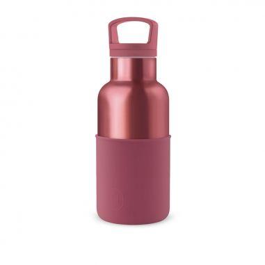 HYDY海迪 時尚保溫水瓶 酒紅-玫瑰金
