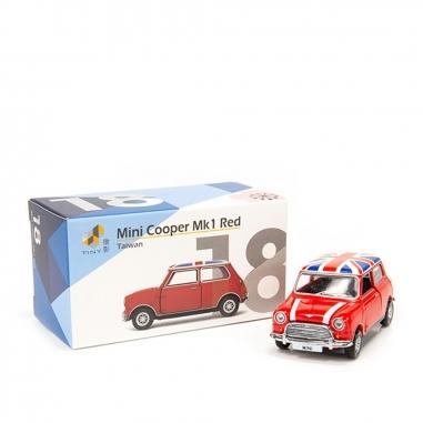 TINY微影 MiniCooper Mk1 Red