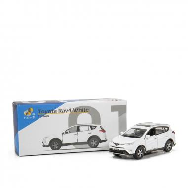 TINY微影 Toyota Rav4 White 台灣