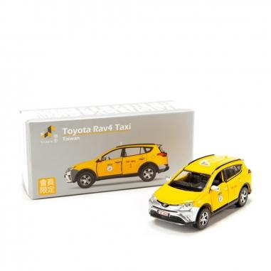 TINY微影 Toyota Rav4 Taxi 計程車