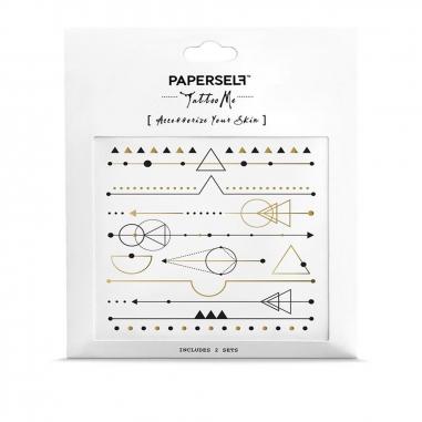 PAPERSELFPAPERSELF 刺青貼紙-星空銀河系列 (多款可選)