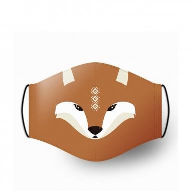 WasangShow花生騷 守護森林Q版狐狸 口罩套