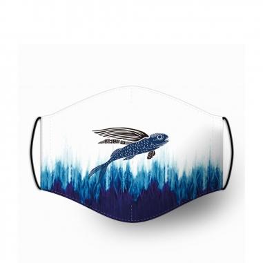 WasangShow花生騷 海洋WAWA飛魚 口罩套