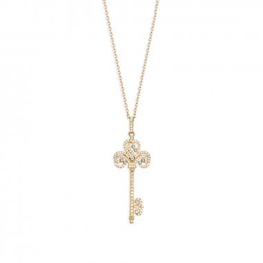 GrosseGrosse Precious Keys 玫瑰金項鍊