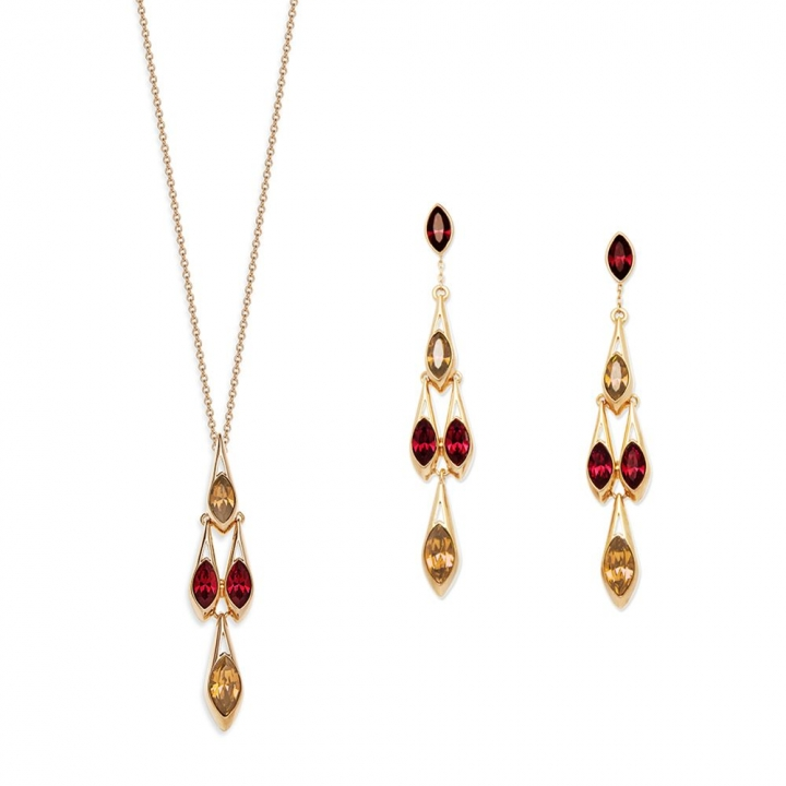 Ailes NecklaceAiles 玫瑰金項鍊