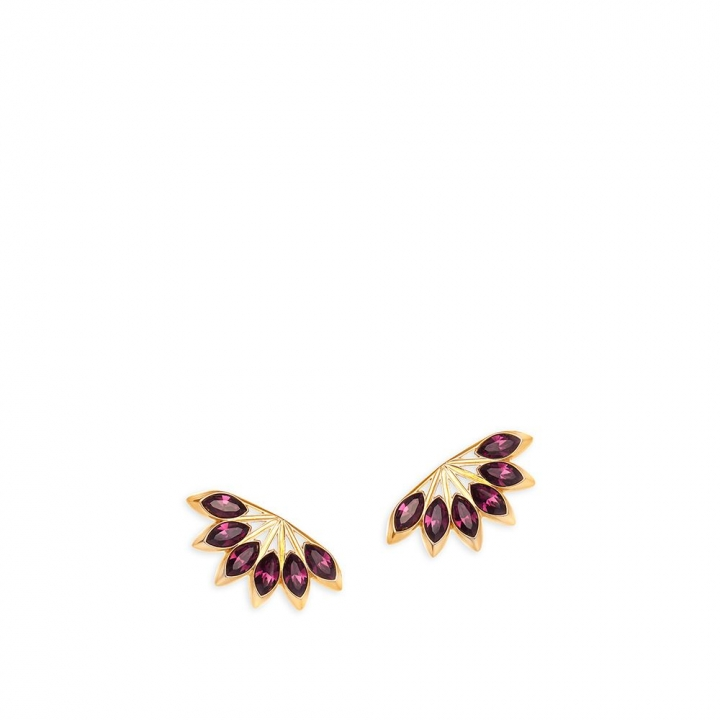 Ailes EarringsAiles 玫瑰金耳環