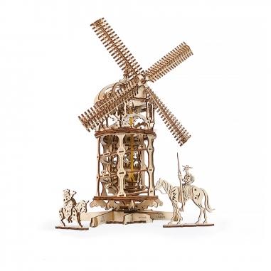 UgearsUgears Ugears-唐吉軻德的風車